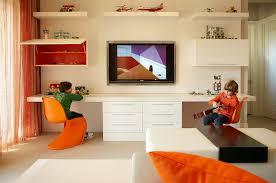 Kids Shared Desk Contemporary Boy S Room B And G Design