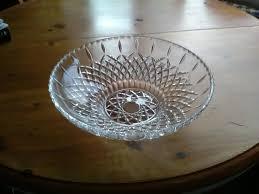 vintage large decorative glass bowl
