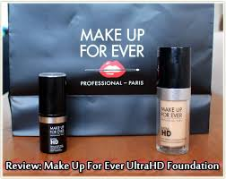 make up for ever ultrahd foundation