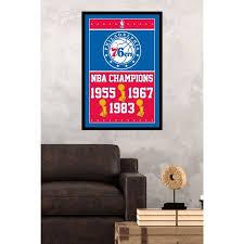 Philadelphia 76ers Wall Decor Canvases 76ers Prints Www Sixersshop Com