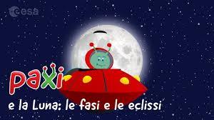 Paxi e la Luna: le fasi e le eclissi - YouTube