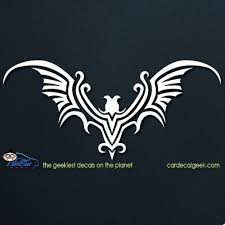 Tribal Bat Car Decal Graphic Window Stickers