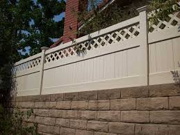 Vinyl Wall Toppers Design Ideas Pictures Vinyl Concepts Fence Toppers Backyard Remodel Concrete Yard