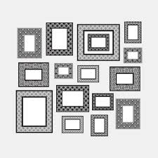 Gallery Wall Frames Decal Set Dormify