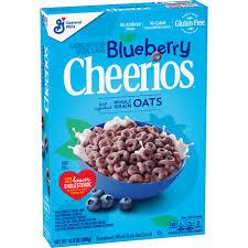 blueberry cheerios gluten free cereal