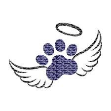 Angel Wings Svg Baby Paw Print Svg Dog Pet Pawprint Svg Cat Etsy In 2020 Cat Paw Print Tattoo Pet Memorial Tattoo Dog Memorial Tattoos