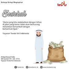 🌴 quotes of the day 🌴 sedekah tak tenda visi