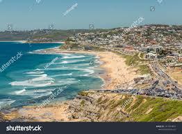 Aerial View Bar Beach Newcastle Nsw ...
