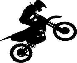 Motorcycle Dirt Bike Vinyl Decal For Cars Laptops Sticker Mirrors Etc Ebay