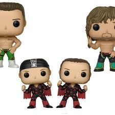 Funko Pop New Japan Pro Wrestling Bullet Club Collectible Vinyl Figures 3 75 Set Of 4