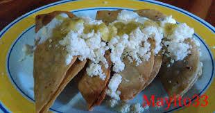 tacos dorados de frijol o quesadillas