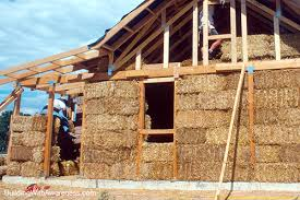 cons of straw bale wall construction
