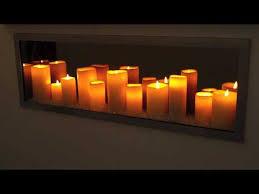 sogno candle led fireplace you