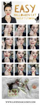 how to do cat makeup step by saubhaya