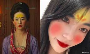 the mulan makeup challenge traditional