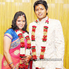 Vandita Kedia and Abhishek Purohit pose for photogs during their engagement  party, held at Hotel Centre PointVandita Kedia and Abhishek Purohit pose  for photogs during their engagement party, held at Hotel Centre