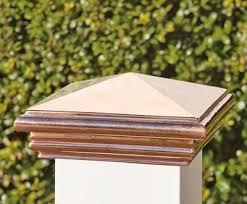 Copper Fence Post Cap