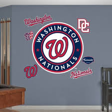 Fathead Mlb Washington Nationals Logo Wall Graphic Bed Bath Beyond