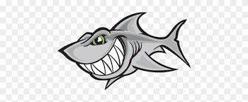 Printed Vinyl Cartoon Shark Smile Stickers Factory Vinyl Stickers Decals Funny Shark Car Motorcycle Garage Free Transparent Png Clipart Images Download
