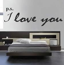 Ps I Love You Wall Letters Trendy Wall Designs