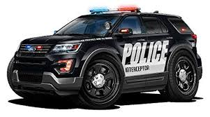 Explorer Police Interceptor Suv Police Cars Art Large 2ft Long Wall Graphic Decal Sticker Man Cave Garage Decor Boys Room Decor Buy Online In Belarus Fatcat Wall Graphics Products In