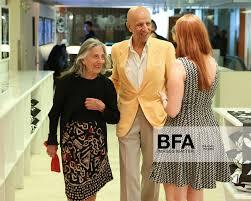 Ada Katz, Alex Katz at Dennis Freedman, Yvonne Force Villareal ...