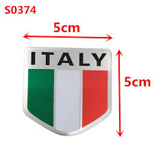 Car Decal Sticker Reflective Ford Focus National Flag Italy Italian Xeos France Com