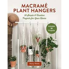 Macramé Plant Hangers: 30 Creative Knotted Crafts for Your Stylish Home by Abby  Wells