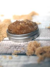 easy diy brown sugar lip scrub with