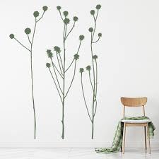 Tall Grass Simple Reeds Wall Decal Sticker Ws 16228 Ebay