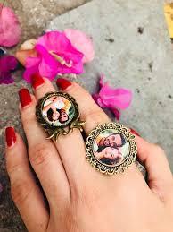 Stylish Mom - Customised photo ring WhatsApp 8168213724 | Facebook