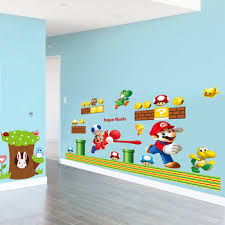 Super Mario Bros Wall Stickers Art Decals Stickers For Kids Baby Room Decor Removable Mural Creative Fridge Stickers Home Decor Buy At The Price Of 2 05 In Aliexpress Com Imall Com