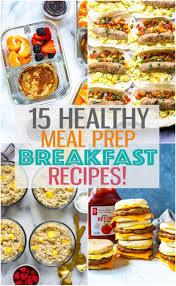 15 breakfast meal prep ideas for busy