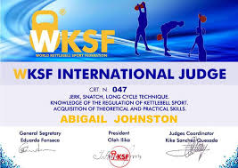 Abigail Johnston-Scotland International... - World Kettlebell Sport  Federation WKSF | Facebook