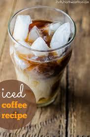 iced coffee homemade syrups