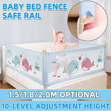 1 5 1 8 2m Baby Playpen Bed Safety Rails For Babies Children Kids Fences Fence Baby Safety Gate Crib Barrier For Newborn Infants Lazada