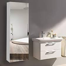 x 12 x 5 inch bathroom mirror cabinet