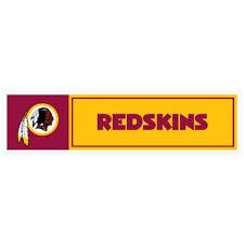 Nfl Washington Redskins Washington Redskins 11 X 3 Bumper Sticker Skinit