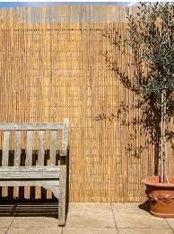 Papillon Bamboo Slat Natural Garden Fenc Buy Online In Israel At Desertcart