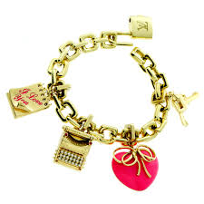padlock diamond gold bracelet 0000182