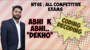 """Coding Decoding.....Complete Coverage...ABHI k ABHI """"DEKHO"""" - YouTube"""