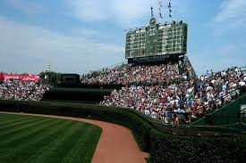 chicago cubs bleachers