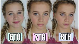 middle makeup tutorial 6th