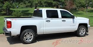 2013 2018 Chevy Silverado Stripes Elite Truck Side Body Pin Striping Auto Motor Stripes Decals Vinyl Graphics And 3m Striping Kits