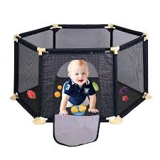 Baby Playpen Children S Play Fence Infant Crawling Mat Toddler Fence Indoor Playground Safety Child Guardrail Blue Baby Play Yard Baby Safety Baby Playpen