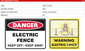 Electric Safety Warning Signs And Meanings Photo For Farm On Sale China Electric Plastic Sign Warning And Electric Plastic Sign Warning Custom Price Made In China Com