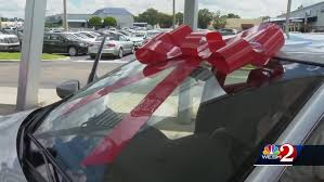 Foster Children Surprised With Cars In Orlando