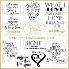 home quotes scrapbooking quotes baer design studio