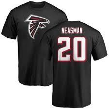Sharrod Neasman Atlanta Falcons Men's Black Pro Line Backer T-Shirt -