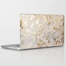 Gold Hide Print Metallic Laptop Ipad Skin By Koovox Society6